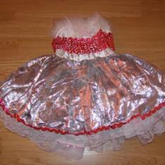 Costum carnaval serbare rochie dans pentru copii de 3-4 ani - Costum Halloween, Marime: Masura unica, Culoare: Din imagine