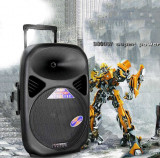 LICHIDARE STOC! BOXA ACTIVA,MIXER,MP3 USB,BLUETOOTH,TELECOMANDA,AFISAJ,MICROFON!, Boxe compacte, 200 - 250 W