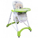 Scaun de masa Hungry Cats Green Baby Mix