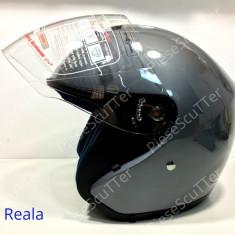 Casca Moto Scuter - ATV De Vara Open Face ( M - 57 - 58 ), Marime: M
