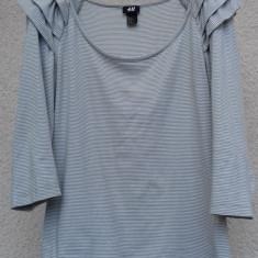 Bluza H&M cu dungulite mas.M - Bluza dama H&m, Maneca 3/4, Casual, Bumbac