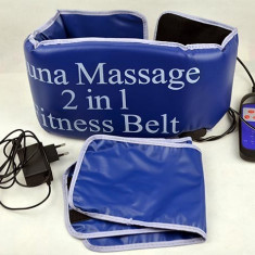 Centura de slabit Sauna Massage 2 in 1 Fitness Belt - Banca de exercitii
