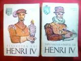 Heinrich Mann - Henri IV -Tineretea ,implinirea, sfarsitul-2 vol.1963,ilustratii
