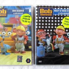 Doua DVD-uri Desene Animate Seria BOB CONSTRUCTORUL Nr. 1 si 2. Noi, in tipla - Film animatie, Romana