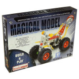 Jucarie Set constructii metalice ATV 101 piese - Set de constructie