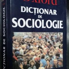 Oxford Dictionar univers enciclopedic gold de Sociologie-Gordon Marshall