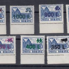 ROMANIA 1998, LP 1459, HOTELURI SI CABANE 91 SUPRATIPAR ZODIAC SERIE MNH - Timbre Romania, Nestampilat
