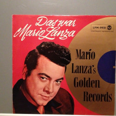 MARIO LANZA - GOLDEN RECORDS (1968/RCA REC/RFG) - Vinil/Vinyl/Impecabil(NM) - Muzica Clasica rca records