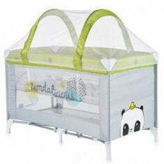 Patut bebe pliabil Chipolino Ariel lime - Patut pliant bebelusi