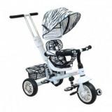 Tricicleta cu scaun reversibil Baby Mix UR-2 White - Tricicleta copii