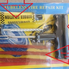 SNUR reparatie pana roata tubeless vulcanizare anvelope radiale cu snur
