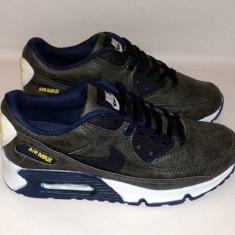 Adidasi NIKE AIR MAX - Noua Colectie !!! - Adidasi barbati Nike, Marime: 37, 38, 40, 41, 42, 43, Culoare: Gri, Piele sintetica