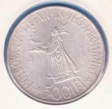 (R) MONEDA DIN ARGINT ROMANIA - 500 LEI 1941 (STEFANITA), REGELE MIHAI I