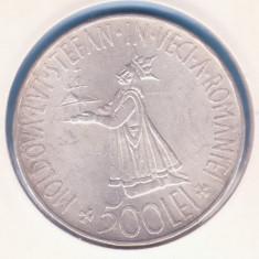 (R) MONEDA DIN ARGINT ROMANIA - 500 LEI 1941 (STEFANITA), REGELE MIHAI I - Moneda Romania