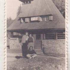 Bnk foto - CCS no 1 Cabana Stana din Vale - anii `60 - Fotografie, Alb-Negru, Cladiri, Romania de la 1950
