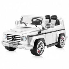 Masinuta electrica SUV Mercedes Benz G55 white