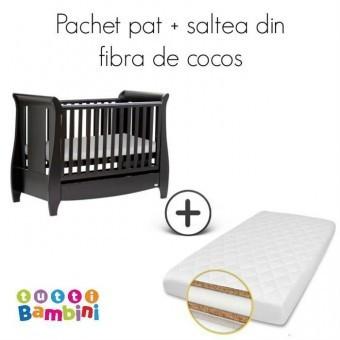 Set patut + salteluta pentru bebelusi Lucas Expresso foto