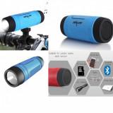 Boxa bluetooth / acumulator extern / lanterna LED bicicleta, drumetie