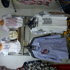 Bluza tip ie romaneasca - Bluza dama, Marime: S, Culoare: Marsala