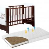 Patut KLUPS Teddy With Stars Venghe+Saltea 10cm - Patut lemn pentru bebelusi