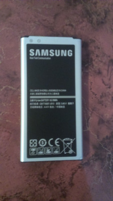 Acumulator Samsung Galaxy S5 G900 cod EB-BG900BBE original swap foto