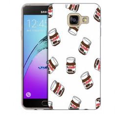 Husa Samsung Galaxy A3 2016 A310 Silicon Gel Tpu Model Nutella Pattern