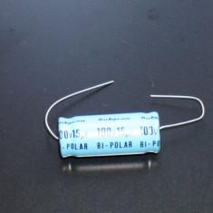 Condesator Bi-Polar Rubycon 15uF  100V