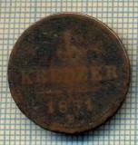 10794 MONEDA- AUSTRIA - 1 KREUZER -anul 1851 B -STAREA CARE SE VEDE, Europa