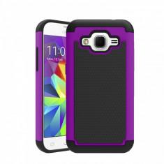 Husa ARMOR Samsung Galaxy J3 - folie protectie display - Husa Telefon, Mov, Gel TPU, Fara snur, Carcasa