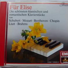 Fur Elise - Muzica Clasica emi records, CD