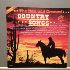COUNTRY SONGS - Various Artists - 2LP SET (1980/DELTA/RFG) - Vinil/Impecabil(NM) - Muzica Country Altele