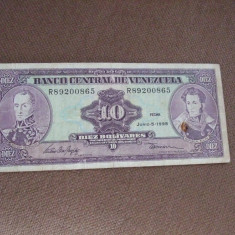 JN. 10 bolivares 1995 Venezuela