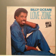 BILLY OCEAN - LOVE ZONE (1986/JIVE/GERMANY) -VINIL MaxiSingle/ca NOU - Muzica Dance emi records