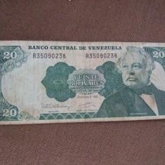 JN. 20 bolivares 1992 Venezuela