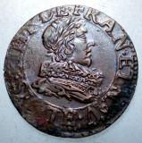 G.333 FRANTA LOUIS XIII DENIER DOUBLE TOURNOIS 16(3)5, Europa