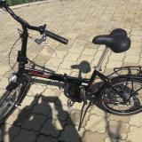 Bicicleta pliabila oras premium DHS Impulse aluminiu model 2027 2013, Numar viteze: 3