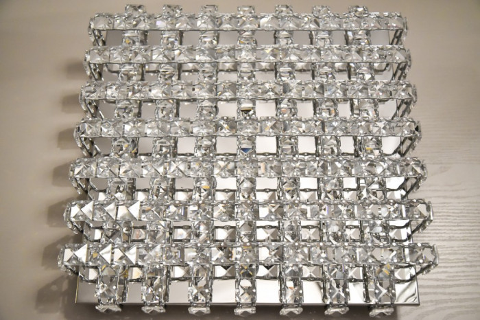 Eglo Plafoniera Led : Roncade plafoniera in metallo cromato a led integrato da w d