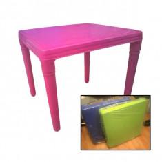 Masa patrata plastic pentru copii - Masuta/scaun copii