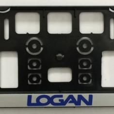 Suport Numar Personalizate LOGAN SET 2 BUC. AL-TCT-263 - Suport numar Auto
