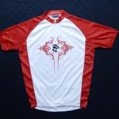 Tricou ciclism Tomahawk; marime L, vezi dimensiuni exacte; impecabil, ca nou - Echipament Ciclism