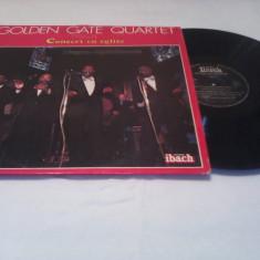 DISC VINIL LP GOLDEN GATE QUARTET-CONCERT EN EGLISE NEGRO-SPIRITUALS VOL 2 - Muzica Jazz