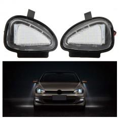 Lampa LED OGLINDA lumina exterioara SUB OGLINZI VW AL-030417-3 - Lumini interior auto, Volkswagen