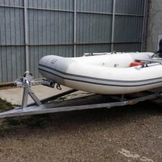 Barca Zodiac Club 6Acti-v cu motor si peridoc + barca cu motor electric - Barca pneumatice