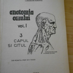 V. RANGA--ANATOMIA OMULUI - VOL. I - 1980