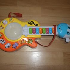 Chitara pentru copii jucarie copii - Instrumente muzicale copii Altele