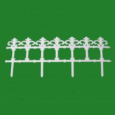 Gard decorativ plastic