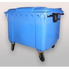 Container gunoi 1100 L cu capac plat - Jucarie de colectie