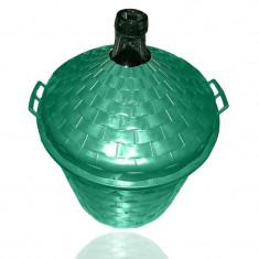 Damigeana de sticla cu cos 50 l