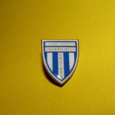 Insigna fotbal CS UNIVERSITATEA CRAIOVA