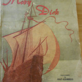 HERMAN MELVILLE--MOBY DICK - Carte veche